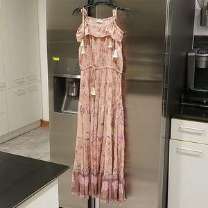 SPELL & THE GYPSY Wild Bloom Strappy Midi Dress
